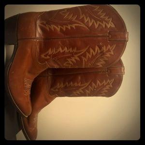 Justin western cowboy boots